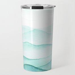Mint Mountains Travel Mug