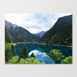长海 // Long Lake, Jiuzhaigou Canvas Print