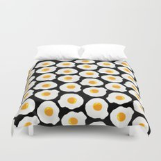 with bread and butter Duvet Cover