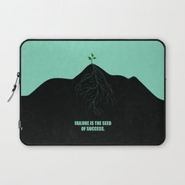 Lab No. 4 -Failure Is The Seed Of Success Corporate Start-Up Quotes Laptop Sleeve