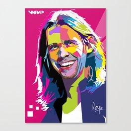 Myles Kennedy Smile WPAP Canvas Print