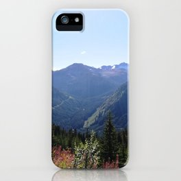 Serenity of the mountains iPhone Case