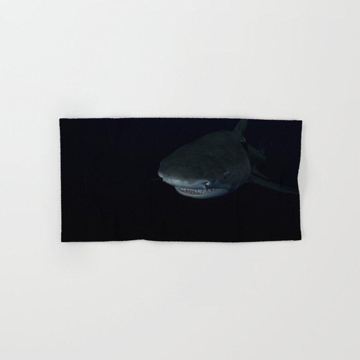 Shark After Dark Hand & Bath Towel