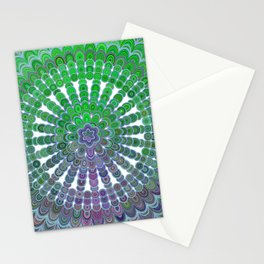 Spring Mandala Wheel Stationery Cards