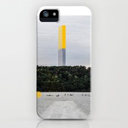 Serapo_New_York_New_Horizons iPhone Case