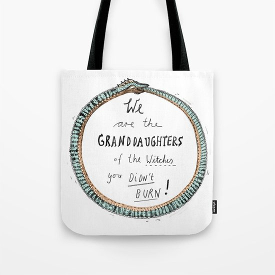 Ouroboros of the Witches Tote Bag