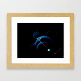 Moon Trio Framed Art Print