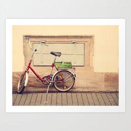 The Green Basket Art Print