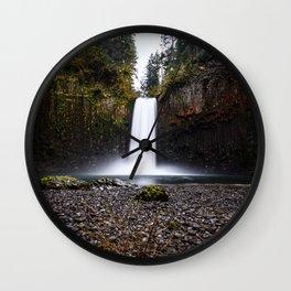 Abiqua Falls Wall Clock