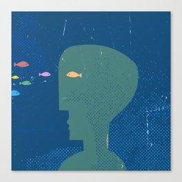 fishhead Canvas Print