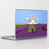 haunted mansion Laptop & iPad Skins featuring Mansion by Design4u Studio