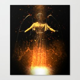 Rise From the Flames Canvas Print