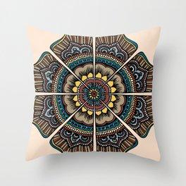 Byzantium con leche Throw Pillow