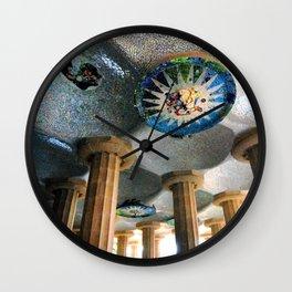 Gaudi Series - Parc Güell No. 2 Wall Clock