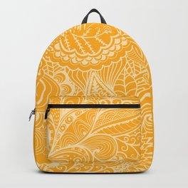 Marigold Mehndi Backpack