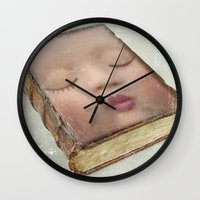 facebook Wall Clocks featuring facebook by Vin Zzep