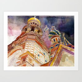 Saint Petersburg Art Print