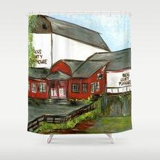 Bucks County Playhouse Shower Curtain