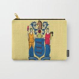 Flag new jersey, america,usa,northeastern,Jerseyan, Jerseyite,Garden State,newark,Paterson,Elizabeth Carry-All Pouch
