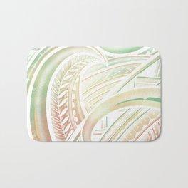 Opaque Polynesian Bath Mat