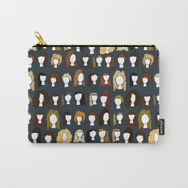 80's Hair Carry-All Pouch
