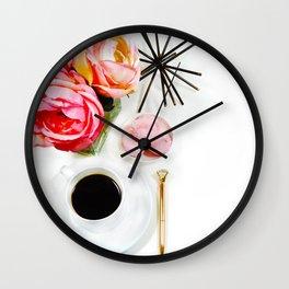 Hues of Design - 1030 Wall Clock