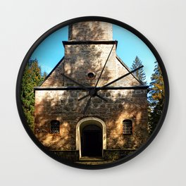Maria Rast forest chapel 2 Wall Clock