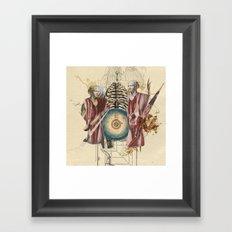 Cariatides Framed Art Print