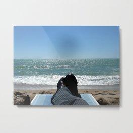 Spiaggia Metal Print