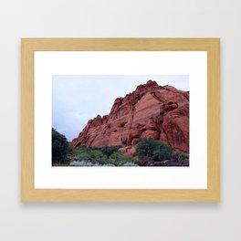 Snow Canyon - Ivins, Utah Framed Art Print