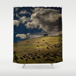 Lonely On Top Shower Curtain