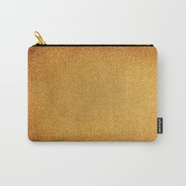 Textured Gold Carry-All Pouch