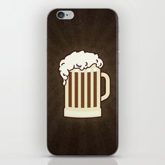 BEER solves everything iPhone & iPod Skin