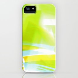 In Between Yellow, Green and Blue - JUSTART © iPhone Case