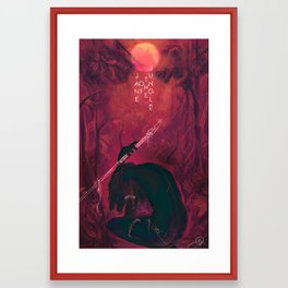 Jane Of The Jungle  Framed Art Print