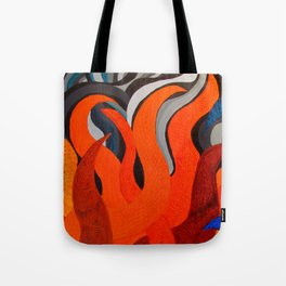 Battle of the Elements: Fire Tote Bag
