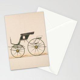 Design for Spider Phaeton,ca. 1870 Stationery Cards