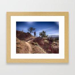The Hiker Framed Art Print