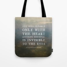 II. Anything essential is invisible to the eyes. Tote Bag