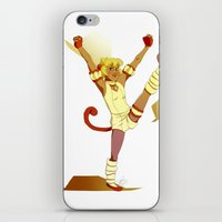 mew iPhone & iPod Skins featuring Mew Pudding by EpictheTitan