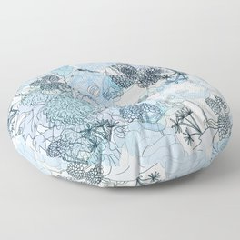 Blue is your color Floor Pillow