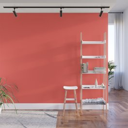 From The Crayon Box – Sunset Orange - Bright Orange Solid Color Wall Mural
