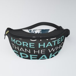 Plato Philosophy Truth Quote Fanny Pack
