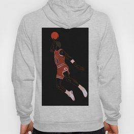 M-ichael Jordan - classic basketball sports player - AirJordan Slam Dunk Drawing  Hoody