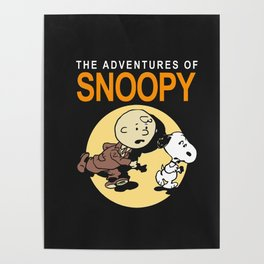 the adventure of snoopy Poster