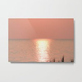 Wasaga Beach Sunset Metal Print
