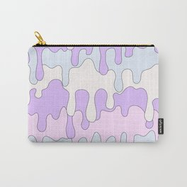 DRIPPY ((pink, purple, blue)) Carry-All Pouch