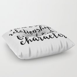 I'm in a Serious Relationship Floor Pillow