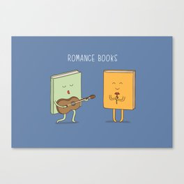 romance books Canvas Print