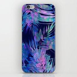 Waikiki Tropic {Blue} iPhone Skin